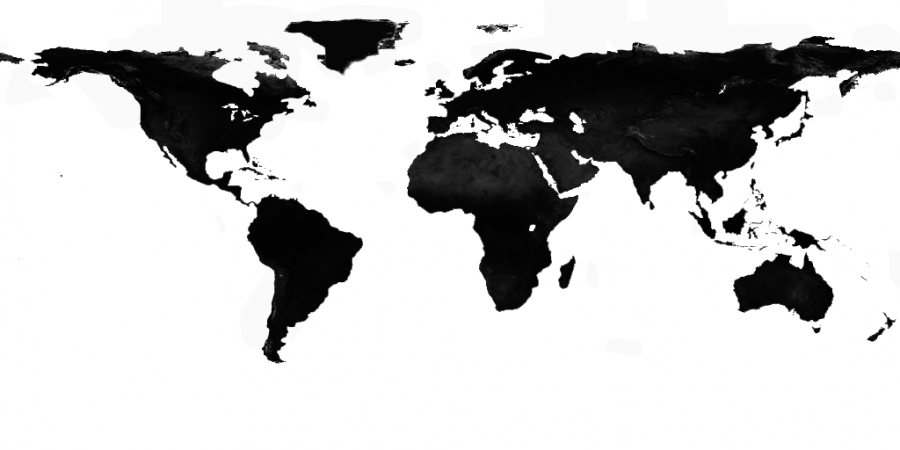 world distribution map