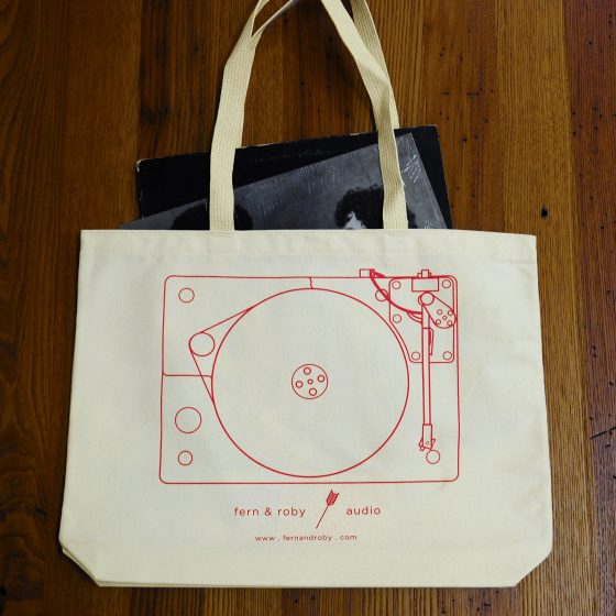 Tote On Table